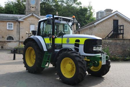 Самый необычный полицейский транспорт-7