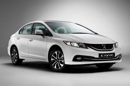Honda Civic 4D седан: экстерьер