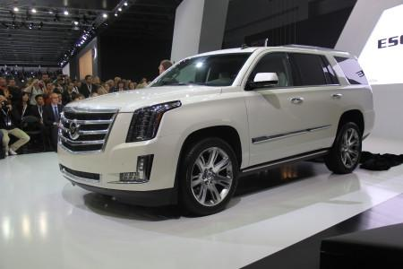 презентация Cadillac Escalade 4 на ММАС-2014
