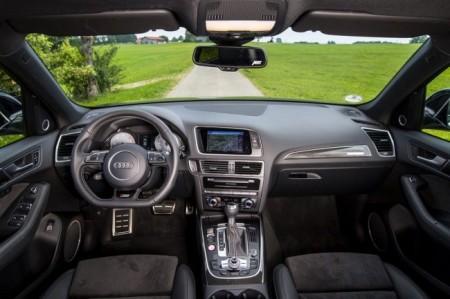 Audi SQ5 TDI от Abt Sportsline: салон