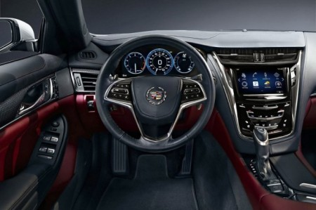 Cadillac CTS 3 (2014): салон