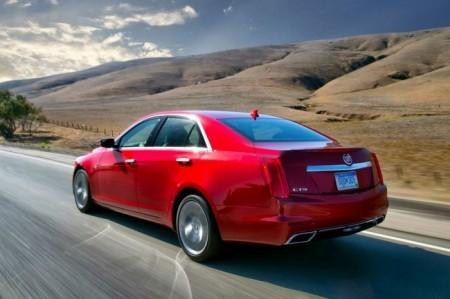 Cadillac CTS 3 (2014): вид сзади