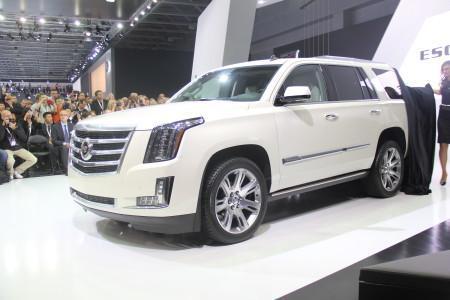Cadillac Escalade 4 на ММАС-2014
