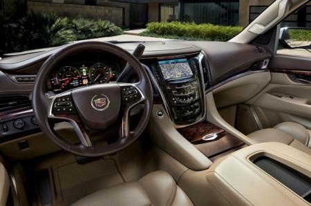 Cadillac Escalade 4: салон