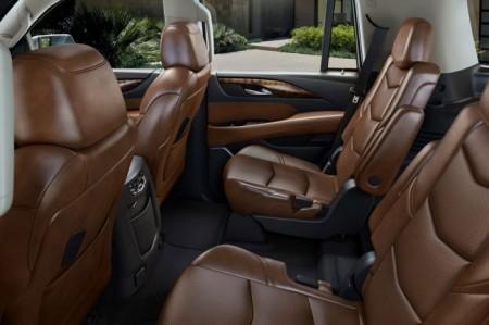 Cadillac Escalade 4: интерьер