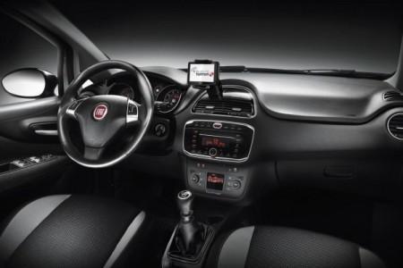 Fiat Punto: салон