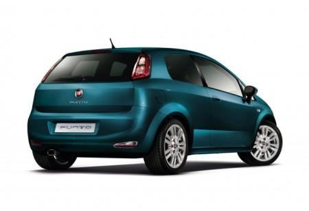 Fiat Punto: вид сзади