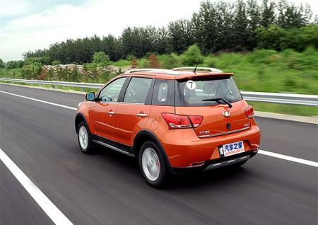 Great Wall Hover M4: вид сзади