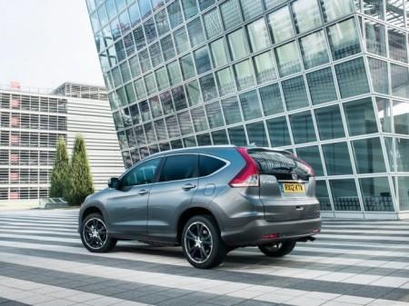 Honda CR-V 4: вид сзади
