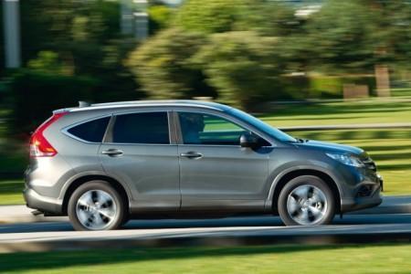 Honda CR-V 4: вид сбоку