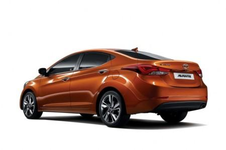 Hyundai Elantra 5 (MD): вид сзади