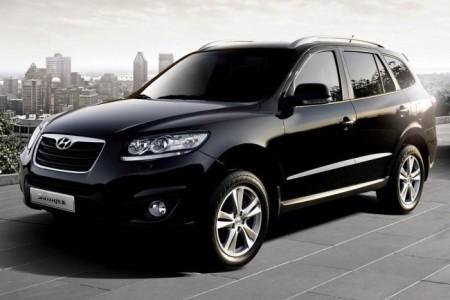 Hyundai Santa Fe 2: вид спереди