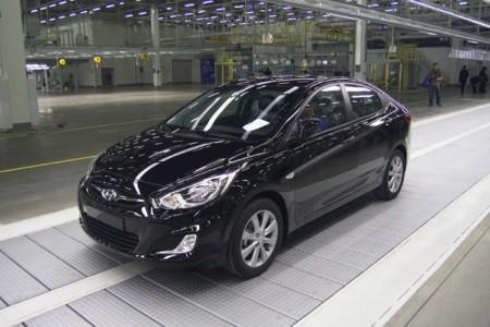 Hyundai Solaris: вид спереди