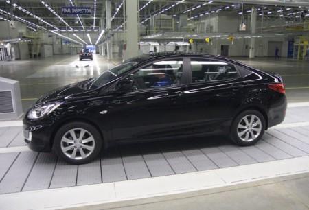 Hyundai Solaris: вид сбоку