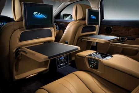 Jaguar XJ 2014: интерьер