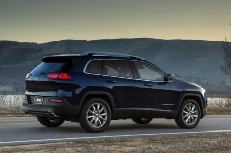 Jeep Cherokee 2014: вид сзади