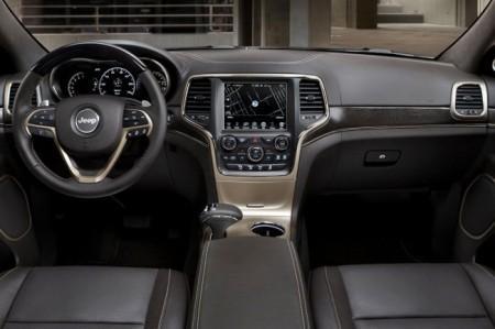 Jeep Grand Cherokee 2014: салон