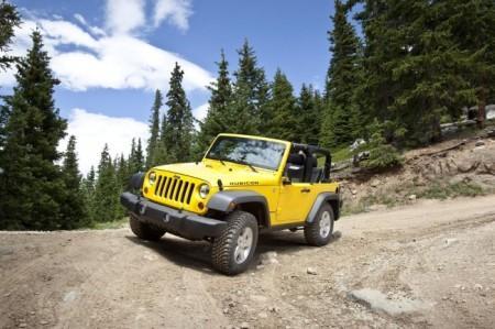 Jeep Wrangler Rubicon (JK): вид спереди