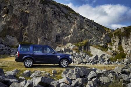 Land Rover Discovery 4 (2014): вид сбоку