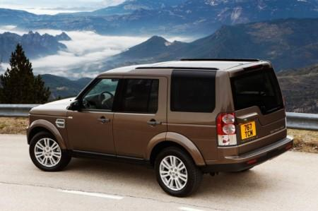 Land Rover Discovery 4 (2014):  вид сзади