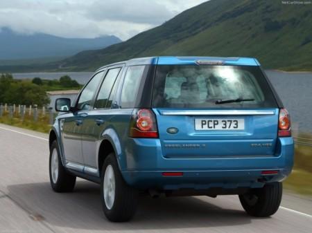 Land Rover Freelander 2 (2013): вид сзади