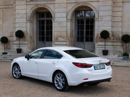 Mazda 6 (3 поколение): вид сзади