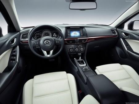 Mazda 6 (3 поколение): салон