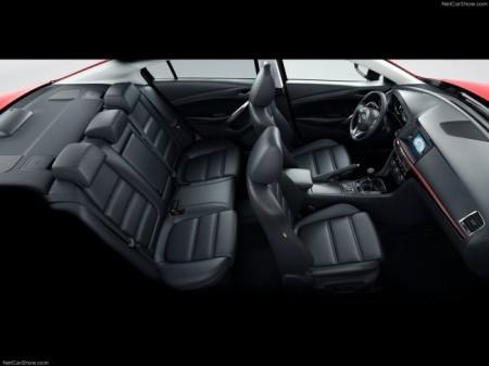 Mazda 6 (3 поколение): интерьер