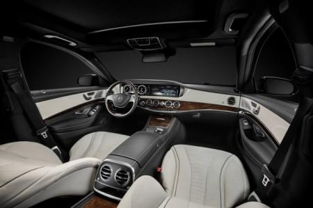 Mercedes S-Class W222: салон