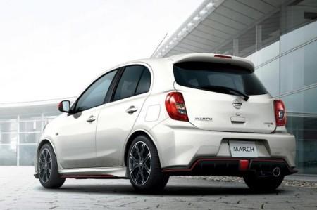 Nissan Micra от Nismo: вид сзади
