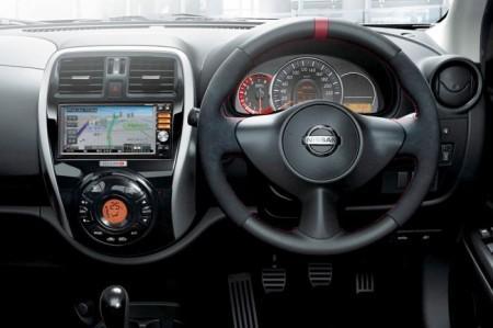 Nissan Micra от Nismo: салон