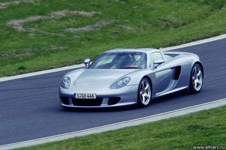 Porsche Carrera GT: вид спереди