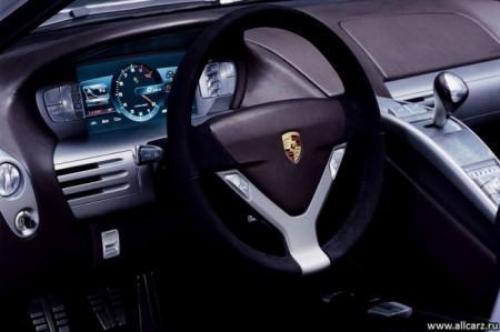 Porsche Carrera GT: салон