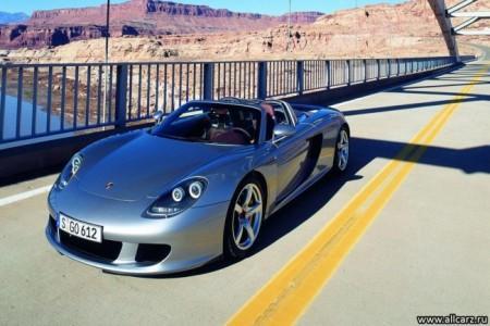 Porsche Carrera GT: экстерьер