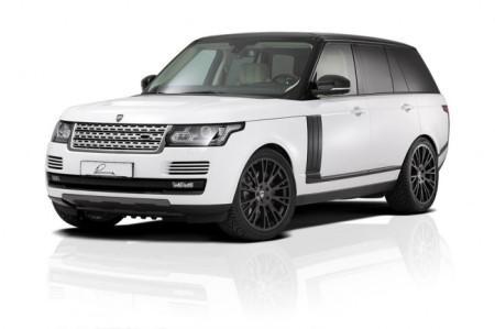 Range Rover 4 CLR от Lumma Design: вид спереди