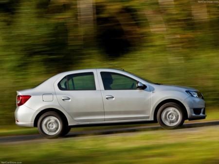 Renault Logan II: вид сбоку