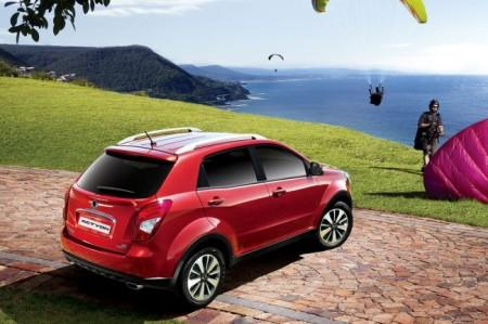 SsangYong New Actyon 2014: вид сзади