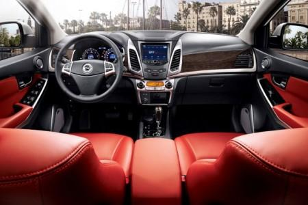 SsangYong New Actyon 2014: салон