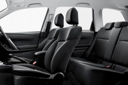 Subaru Forester 4: интерьер