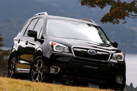 Subaru Forester 4: вид спереди