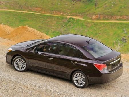 Subaru Impreza 4: вид сбоку