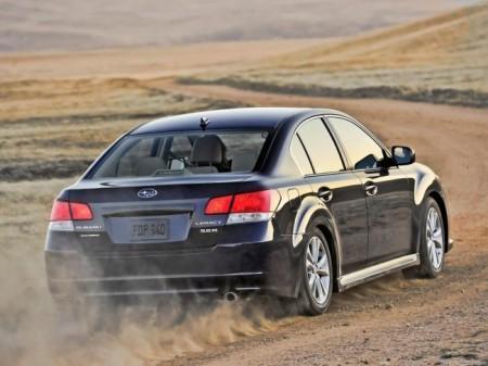 Subaru Legacy 5 (2013): экстерьер