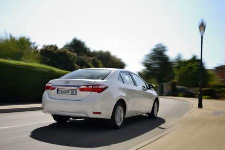Toyota Corolla 11: вид сзади
