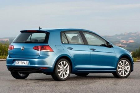 Volkswagen Golf 7: вид сзади