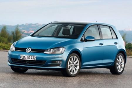 Volkswagen Golf 7: вид спереди