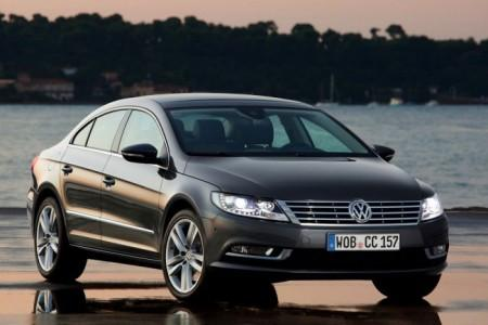 Volkswagen Passat CC: вид спереди