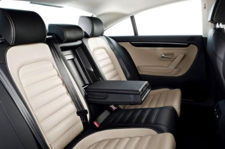 Volkswagen Passat CC: интерьер