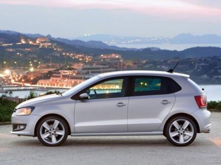 Volkswagen Polo 5: вид сбоку