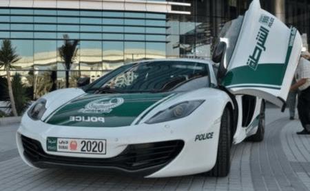 Автомобили полиции Дубая - Bugatti Veyron и другие2