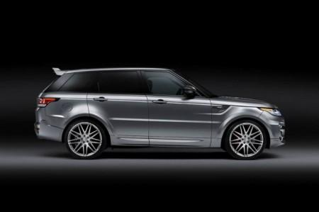 Range Rover Sport 2 от ателье Startech: вид сбоку